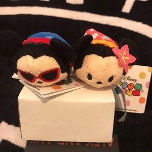 Tsum Tsum Mickey and Minnie